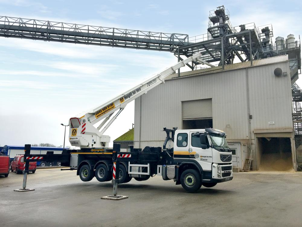 Bronto Skylift S 70 XDT Truck Mounted