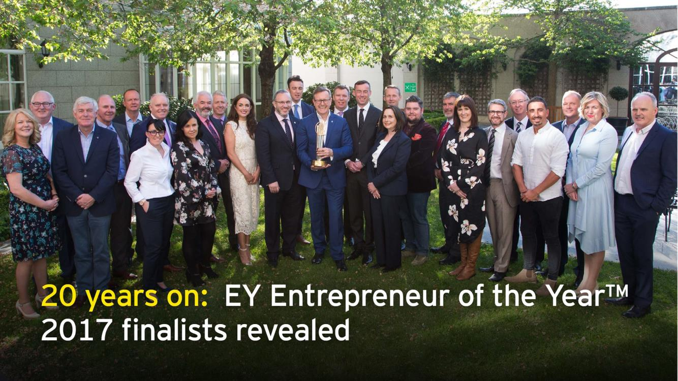 Height for Hire has been shortlisted for 2017 EY Entrepreneur of the Year