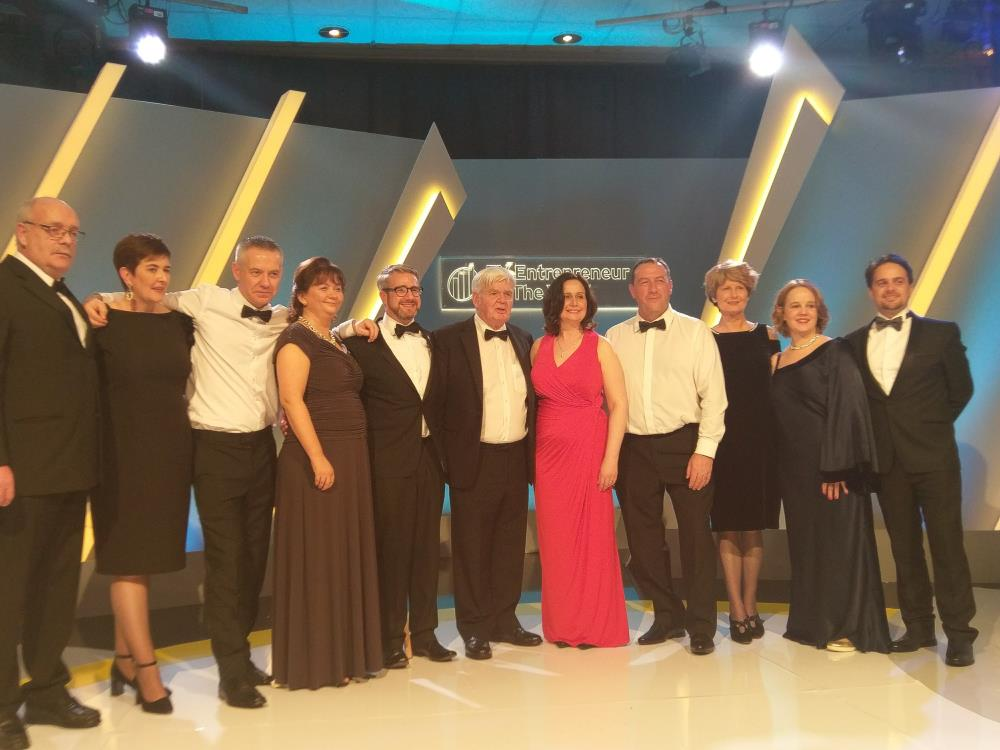 Height for Hire attends the Oscars for Ireland's Business Community